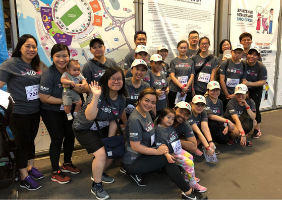 ManpowerGroup team at The New Paper Big Walk 2018