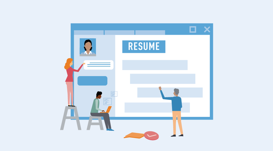 Sample resume banner_customer service